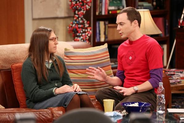 "Amy & Sheldon in ""The Raiders Minimization"" Episode 4 of Season 7"
