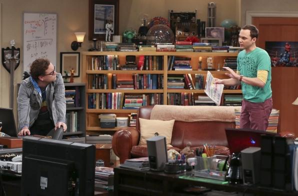 "Roommates in ""The Raiders Minimization"" Episode 4 of Season 7"