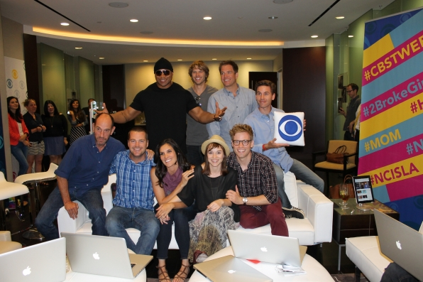 NCIS and NCISLA Group Shot