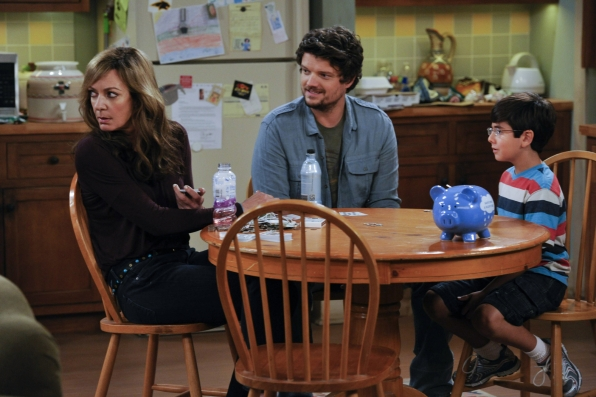 """Bonnie & the boys in """"A Small Nervous Meltdown and a Misplaced Fork"""" Episode 2 of Season 1"""