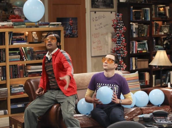 "Balloon baffoons in ""The Workplace Proximity"" Episode 5 of Season 7"