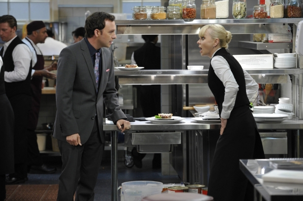 """Gabriel & Christy in """"Abstinence & Pudding"""" Episode 6 of Season 1"""