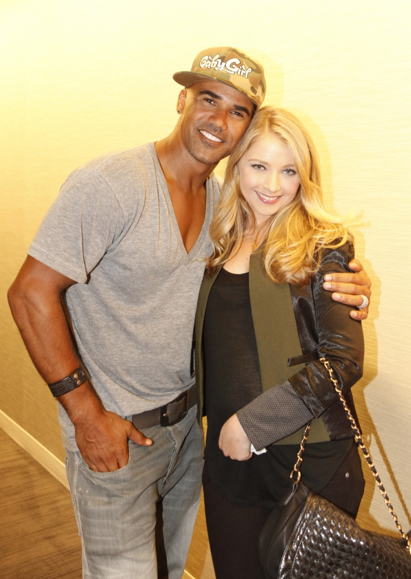 Criminal Minds' Shemar Moore and CSI's Elisabeth Harnois