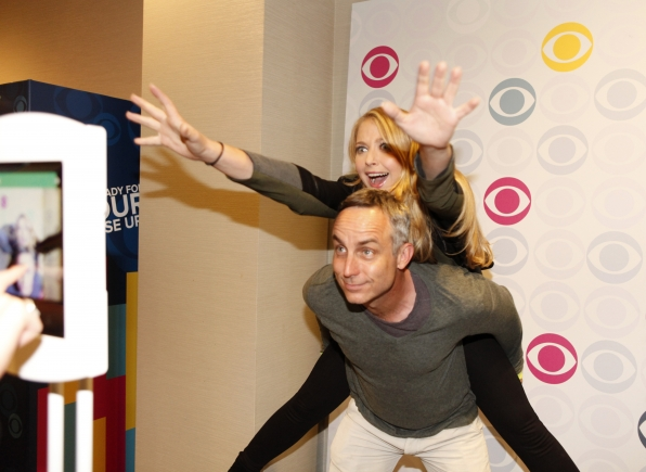 CSI's Wally Langham and Elisabeth Harnois