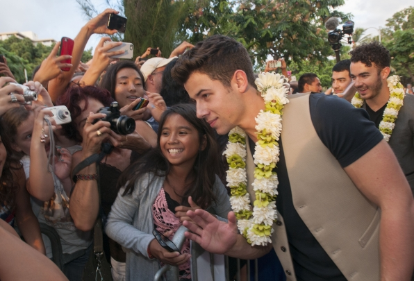 Hawaii Five-0 Sunset on the Beach - Nick Jonas