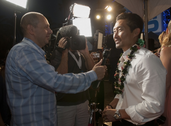 Hawaii Five-0 Sunset on the Beach - Daniel Dae Kim