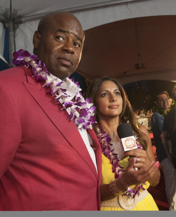 Hawaii Five-0 Sunset on the Beach - Chi McBride
