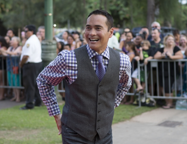 Hawaii Five-0 Sunset on the Beach - Mark Dacascos