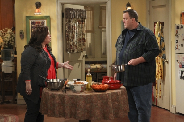 "Mike & Molly in ""Careful What You Dig For"" Episode 4 of Season 4"
