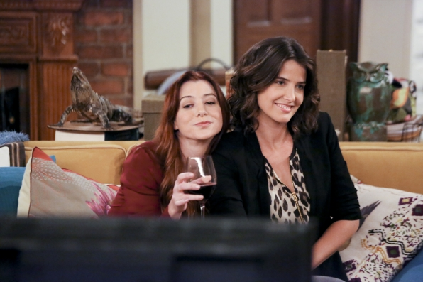 6. Lily and Robin - HIMYM