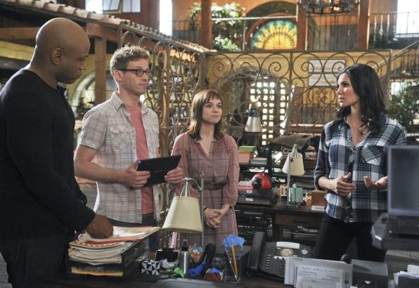 4. Sam, Eric, Nell and Kensi - NCIS: Los Angeles