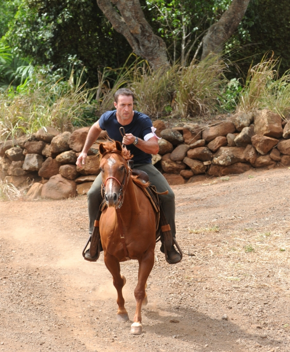 4. McGarrett and His Horse - Hawaii Five-0