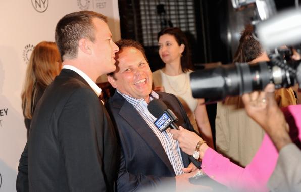 Jonathan Nolan and Kevin Chapman