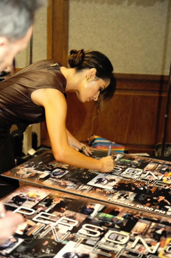 Sarah Shahi Signs