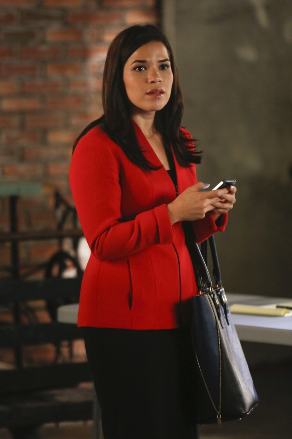 America Ferrera guest stars as Natalie Flores
