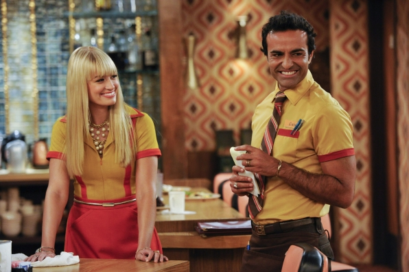 "Caroline & Luis in ""And The Group Head"" Episode 4 of Season 3"