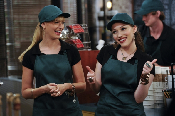 1. Max and Caroline - 2 Broke Girls