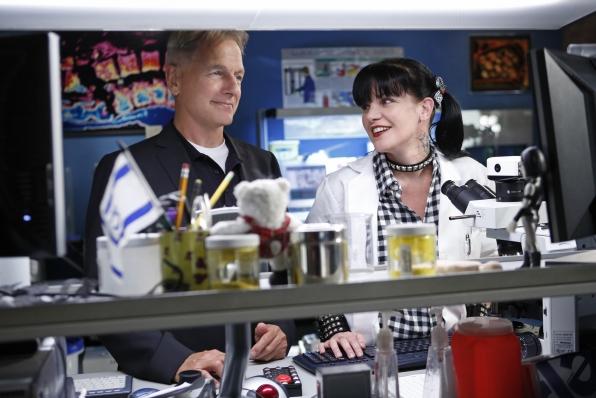 9. Gibbs and Abby - NCIS