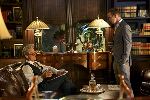 Gregory Harrison as Dec Fortnum and Cam Gigandet as Roy Rayder