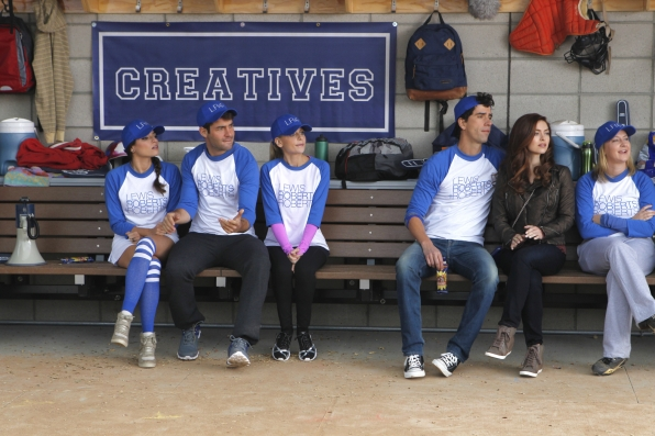 "Benchwarmers in ""Sixteen-Inch Softball"" Episode 9 of Season 1"
