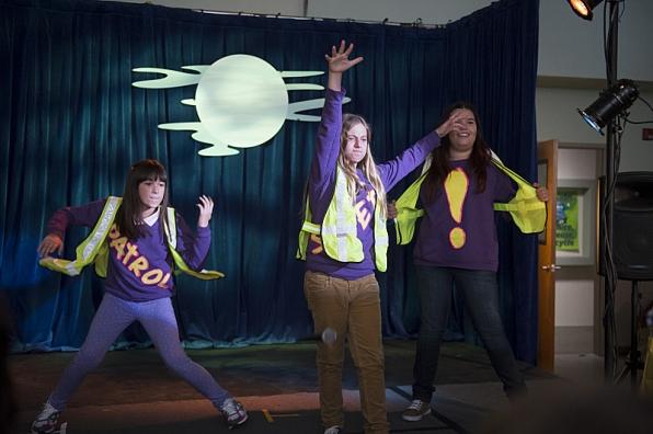 "Dance patrol in ""The Sixth Grade Lock In"" S1 E5"