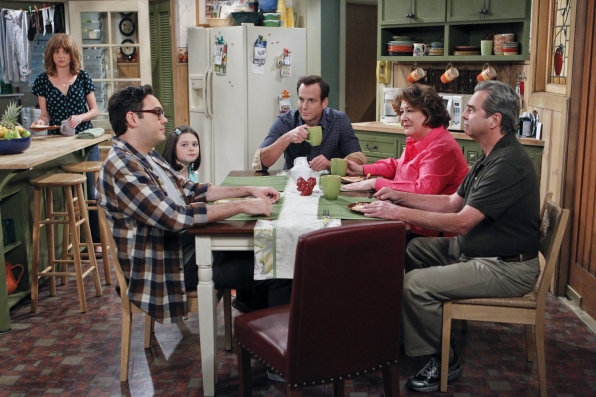 "Family gathering in ""You're In Trouble"" Episode 9 of Season 1"