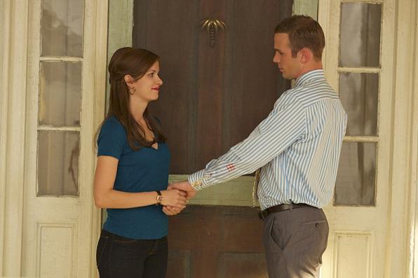 7. When he showed up at her door and took her breath away.