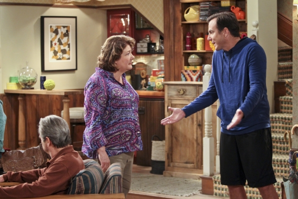 "Nathan & Carol in ""The Talk"" Episode 7 of Season 1"