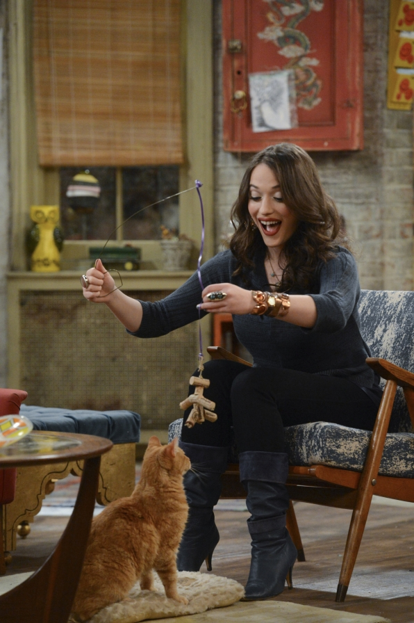"""Cat toys in """"And The """"It"""" Hole"""" Episode 8 of Season 3"""
