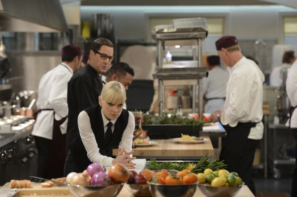 """Kitchen confidential in """"Big Sur and Strawberry Lube"""" Episode 8 of Season 1"""