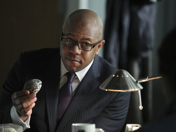 Rockmond Dunbar - University of New Mexico - The Mentalist