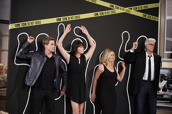 The cast of CSI: Crime Scene Investigation visits THE TALK