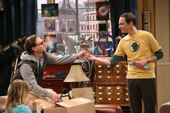 "Leonard & Sheldon in ""The Itchy Brain Simulation"" Episode 8 of Season 7"