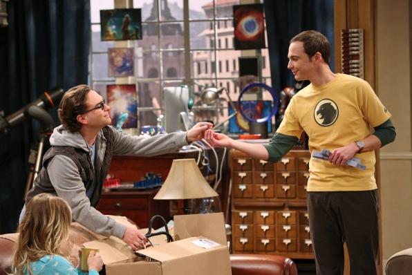 "Leonard & Sheldon in ""The Itchy Brain Simulation"" Episode 8 of Season 7"