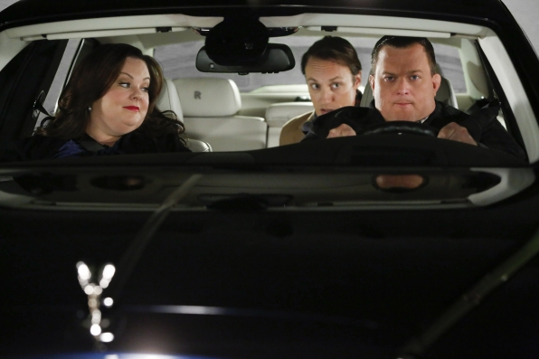"Road trip in ""Mike & Molly's Excellent Adventure"" Episode 8, Season 4"