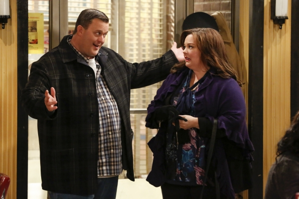 "The Biggs in ""Mike & Molly's Excellent Adventure"" Episode 8, Season 4"