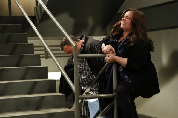 "Couples outing in ""Mike & Molly's Excellent Adventure"" Episode 8, Season 4"
