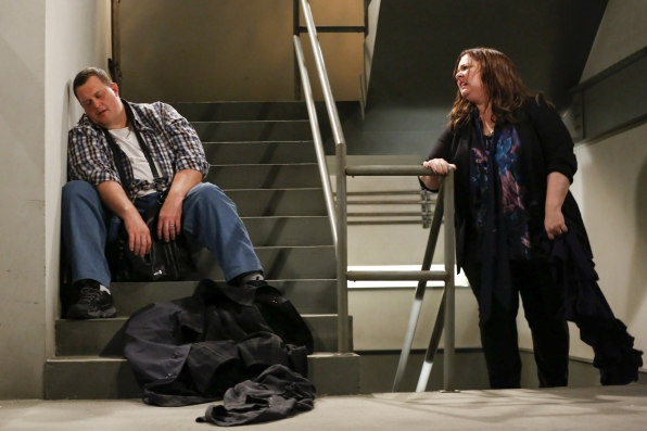 """Rest area in """"Mike & Molly's Excellent Adventure"""" Episode 8, Season 4"""