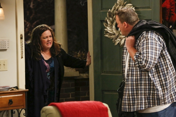 "Out of the comort zone in ""Mike & Molly's Excellent Adventure"" Episode 8, Season 4"