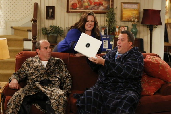 "Look here in ""Mike & Molly's Excellent Adventure"" Episode 8, Season 4"