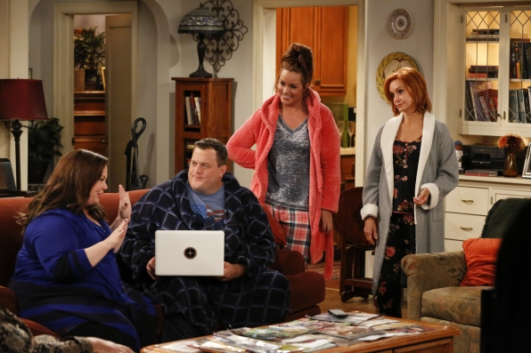 "Listen up in ""Mike & Molly's Excellent Adventure"" Episode 8, Season 4"
