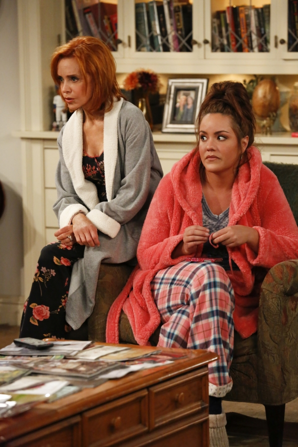 "Joyce & Victoria in ""Mike & Molly's Excellent Adventure"" Episode 8, Season 4"