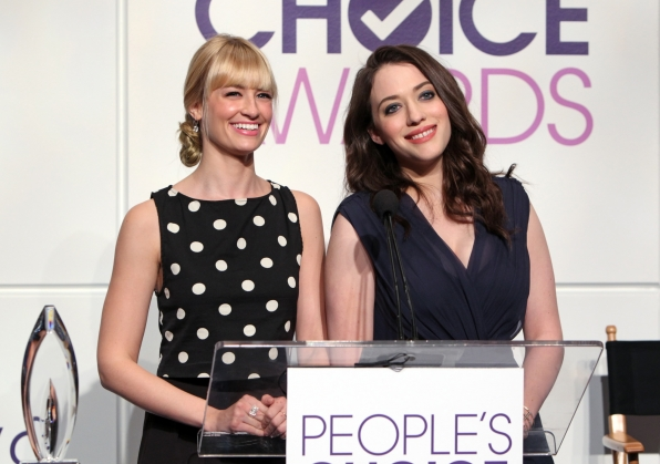 Hosts, Beth Behrs and Kat Dennings