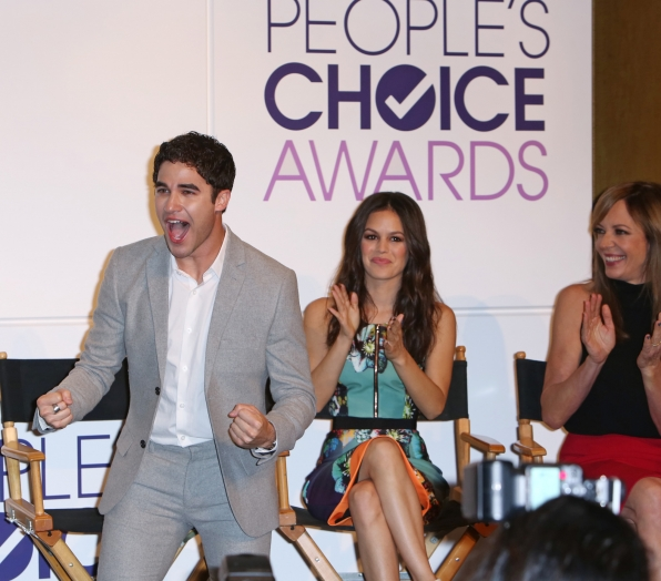 Darren Criss, Rachel Bilson and Allison Janney