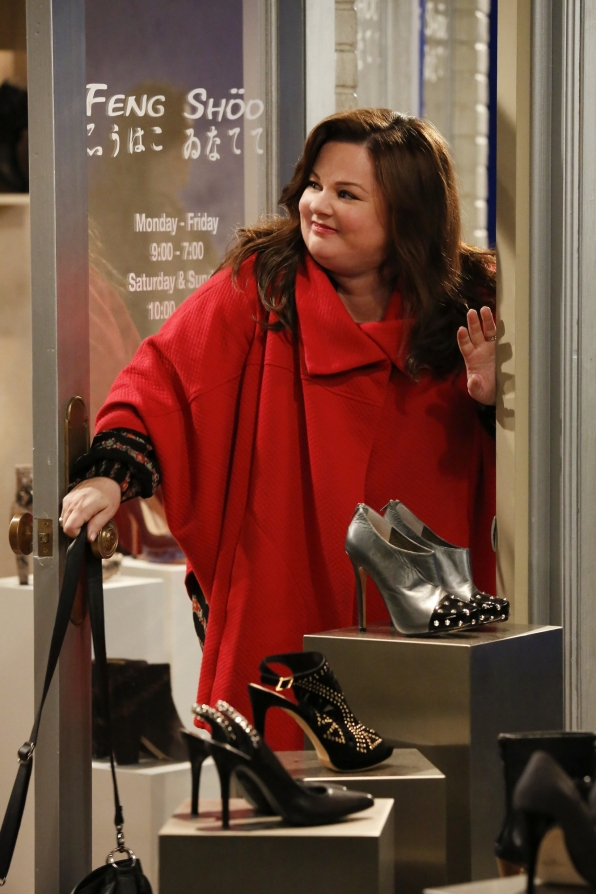 "Lady in red in ""Shoeless Molly Flynn"" Episode 6 of Season 4"