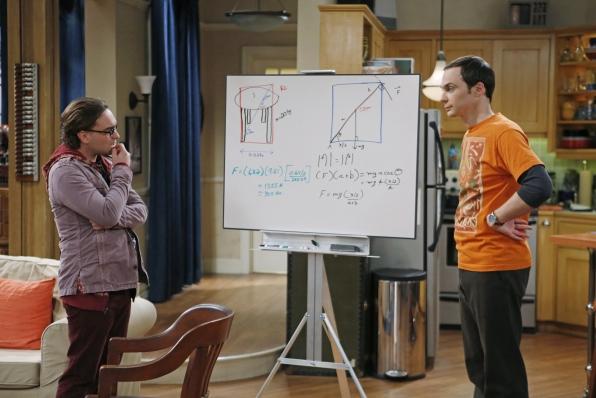 "The whiteboard in ""The Thanksgiving Decoupling"" Episode 9 of Season 7"