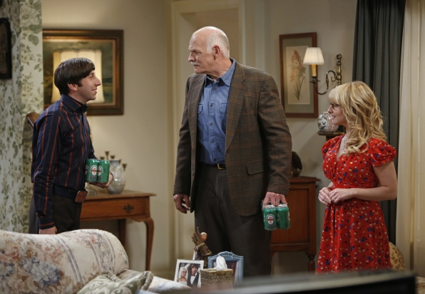 "Facing the father-in-law in ""The Thanksgiving Decoupling"" Episode 9 of Season 7"