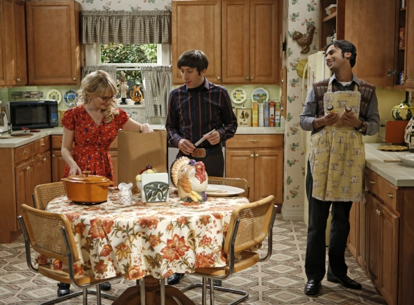 "Cooks in the kitchen ""The Thanksgiving Decoupling"" Episode 9 of Season 7"