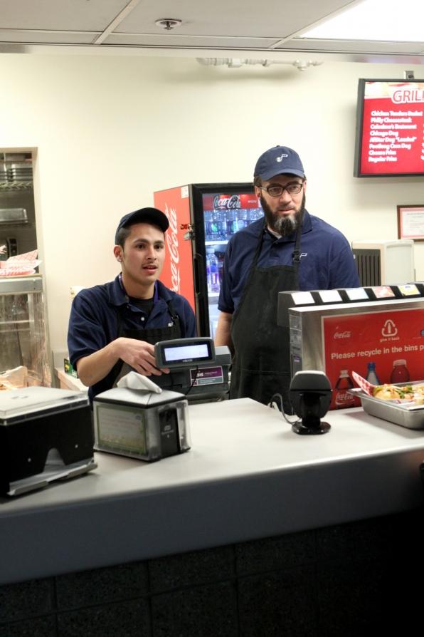 Greg working the register in Season 5 Episode 13
