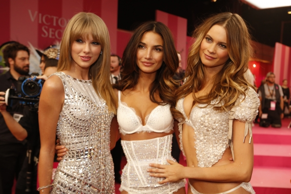 Taylor Swift, Lily Aldridge and Behati Prinsloo